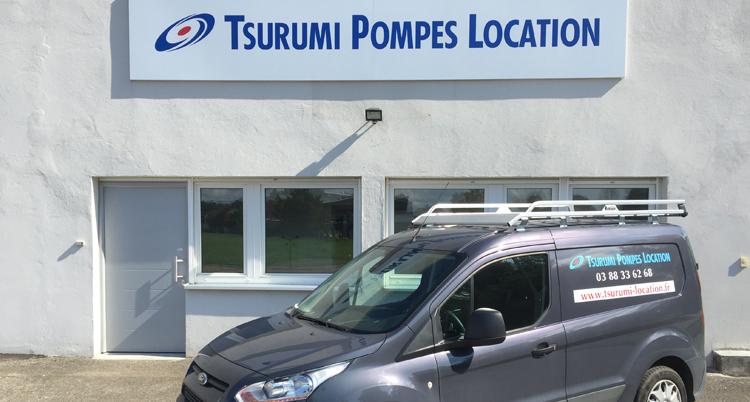 TSURUMI PUMP se lance sur le marché français de la location